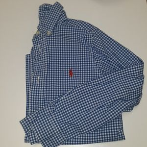 Polo Long Sleeve Button Down